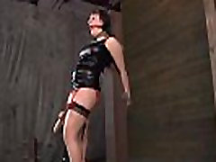 Hot whipping for beauty&039s butt