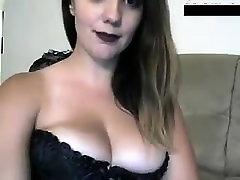 Big natural boobs handjob