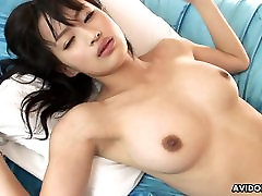Busty Asian hottie&039;s pussy gets extremely wet while being fu
