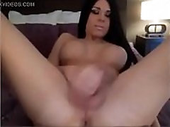 Brunette Tranny Fucks Her Ass With A Glass Dildo - DickGirls.xyz