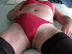 Hottest homemade shemale movie with Masturbation, Stockings scenes