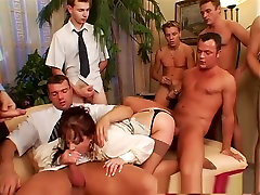 Crazy pornstar Anita Blue in horny mature, brunette adult movie