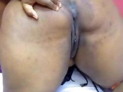 Ebony Bbw on Cam Spreading
