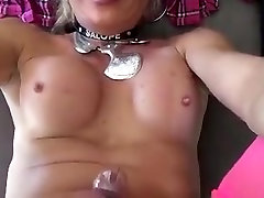Crazy Amateur Shemale video with Mature, Cumshot scenes