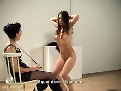 Horny amateur BDSM, Lesbian porn clip