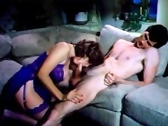 Vintage retro big cock deep throat facial cumshot tits