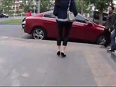 Cum on Girl 19: Cum on her foot