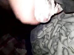 Cumming in a hot pair of white panties