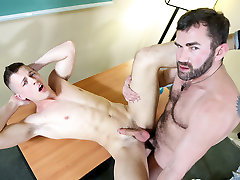 Hairy Teacher Fucks His Gay Student