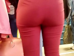 sexy russian ass in red pants