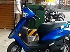 horny guy strips bare naked in public and cums
