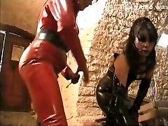 Fabulous amateur BDSM, Latex adult movie