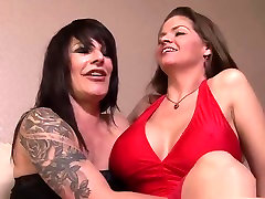 Amazing pornstars June Summers and Daisy Rock in crazy mature, masturbation adult scene
