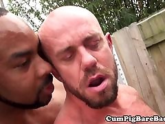 Black bear doggystyle fucking a stud
