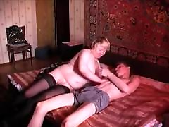 Russian Mom & Son Russian Old Woman And Young Boy 3