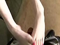 Black Meat White Feet - Foot Fetish Porn Video 02