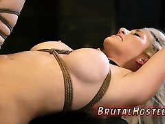 Punishment Big-breasted ash-blonde sweetie Cristi Ann is