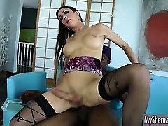 Lovely shemale Danika Dreamz anal banged