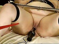 Exotic homemade BBW, BDSM xxx movie