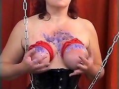 Amazing homemade Fetish, BDSM porn clip
