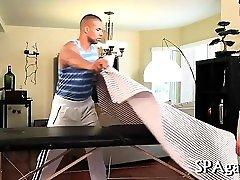 Satisfying gay oral stimulation