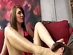 Interracial Foot Fetish from Black Meat White Feet 01