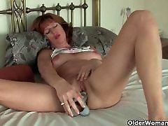 Érett maszturbál a szex játékok