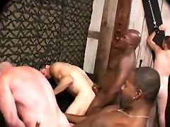 Interracial BB Gay Orgy