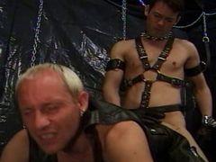 Fetish gay couple butt fucking