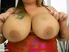 Busty BBW MILF Jenna Divyne Sucks Huge Cock