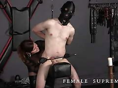Highly Strung! lelu love blackmails Featuring Dominatrix Baroness Essex