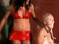 Lesbian slave Lenes kinky domination and dark lezdom bdsm