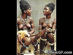 Real Ebony African Teens!