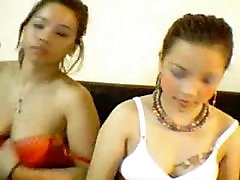 Sexy Asian Lesbians Do It All On Webcam
