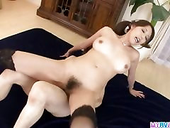 Creampied In Both Holes After Akari Threesome