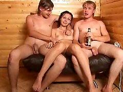 Видео порно секс в русской бане 158