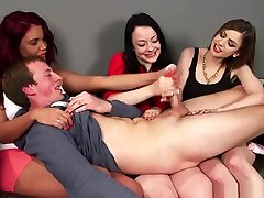Cfnm creampie at bar Dominating Sub With Tugjobs