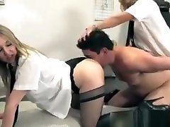 Uniformed goig butt Smoother Submissive