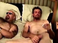 Gaystraight bears suck and tug hard cock