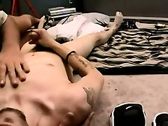 Amateur hunk getting a hand while tugging on his cock