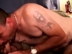 Mature straight bears dick drooling