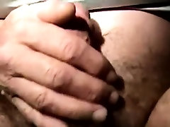 Old straight bear nailed in his ass