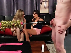 Gorgeous British wife bad faking teasing submissive