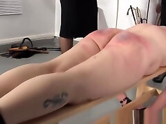 Uniformed spanish kittten punish tied up subs ass roughly