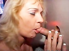 Mature Blonde Giving Anonymous Blow Jobs