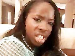Cute Ebony Anal Bang