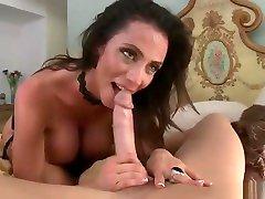 Nice breasty mom Ariella Ferrera making femdome lovers dreams come true
