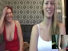two models humiliate me double dildo fucking