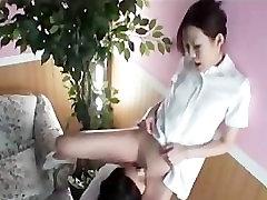 Asian Lesbian Massage Lotion Rubbing Scissoring