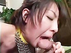 مص الآسيوية الديك و الأكل الآسيوية كس